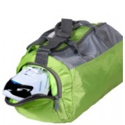 Easies 18 inch/45 cm Light Weight UniSex Neon Color Gym Bag(Orange)