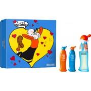 Moschino I LOVE LOVE /дамски комплект/ - EdT 30 ml + боди лосион 25 ml + душ гел 25 ml