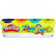 Set plastilina cu 4 culori Play-Doh