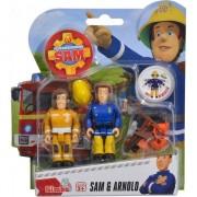 Figurine Pompierul Sam și Sam Arnold accesorii