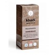 Khadi Növényi Hajfestékpor sötétbarna 100 g