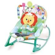 Balansoar cu melodii si vibratii Baby Lion