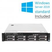 Dell Poweredge R720 - 8xLFF, 2x Intel® Xeon® DecaCore Processor E5-2650L V2, 32GB RAM, HDD 2x2TB. Windows server standard 2019