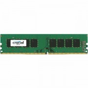 Crucial DRAM 8GB DDR4 2400 MT/s PC4-19200 CL17 SR x8 Unbuffered DIMM 288pin Single Ranked, EAN 649528776389 CT8G4DFS824A