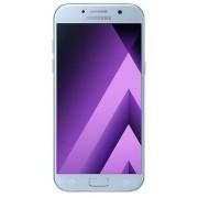 "Telefon Mobil Samsung Galaxy A5 (2017), Procesor Octa-Core 1.9GHz, Super AMOLED Capacitive touchscreen 5.2"", 3GB RAM, 32GB Flash, 16MP, 4G, Wi-Fi, Dual-Sim, Android (Albastru) + Cartela SIM Orange PrePay, 6 euro credit, 4 GB internet 4G, 2,000 minute nati"