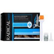 Ideepharm Radical Med, Kit für Mikronadel-Mesotherapie für Haarwachstum, 12 Ampullen x 3 ml