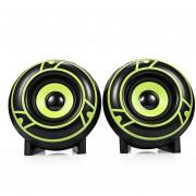Audio- A12 2.0 Sonido Con Cable Altavoz Con Cable Gran-Verde