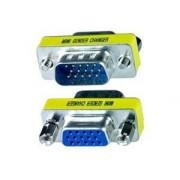 Mini Gender Changer VGA DB 15 poli HD M/F