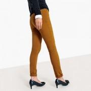 Slim broek in twill