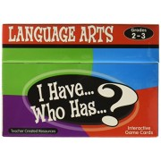 Teacher Created Resources I Have... Who Has...? Language Arts Game Grades 2-3 (7813)
