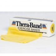 Thera Band 5.5 metros: Fitas de Látex de Resistência Suave - Cor Amarela