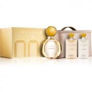 Bvlgari Goldea coffret II. Eau de Parfum 90 ml + leite corporal 75 ml + gel de duche 75 ml + bolsa de cosméticos