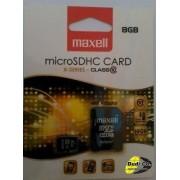 Maxell micro sdhc 8gb x-series+adapter class 10