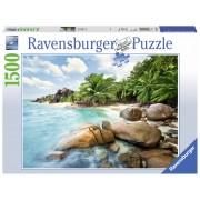 PUZZLE PLAJA, 1500 PIESE - RAVENSBURGER (RVSPA16334)