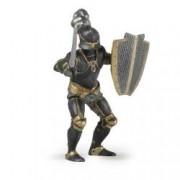 Figurina Papo-Cavaler in armura neagra