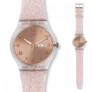 Orologio swatch donna suok703 pink glistar