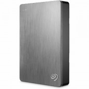 SEAGATE HDD External Backup Plus Portable 2.5,4TB,USB 3.0 Silver STDR4000900
