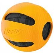 Nerf Dog Crunchable Checker Ball, 4-inch