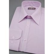 Pánská košile SLIM dlouhý rukáv barva Lila 117-1728-42/194
