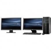 HP Pro 6300 Tower - Core i3 - 4GB - 500GB HDD + Dual 2x 20'' Widescreen LCD