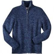 Ten-Ply Cashmere Jacket, Women or Men, 46 - Dove Blue/Black mottled - Men