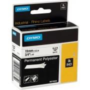 Dymo 18484 Ruban Noir sur blanc Original S0718220
