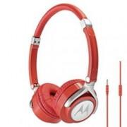 Слушалки Motorola Pulse Max, 3.5 мм жак, червени