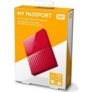HDD eksterni Western Digital My Passport Red 4TB, WDBYFT0040BRD