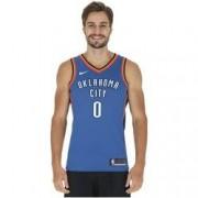 Nike Camiseta Regata Nike NBA Oklahoma City Thunder Russel Westbrook - Masculina - AZUL