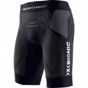 X-bionic - nohavice THE TRICK MAN RUNNING PANTS SHORT black/anthracite Velikost: M