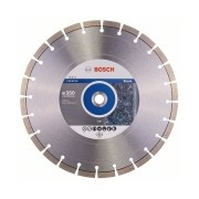Bosch - Expert for Stone - Disc diamantat de taiere segmentat, 350x25.4/20x3.2 mm, taiere uscata, calitate medie