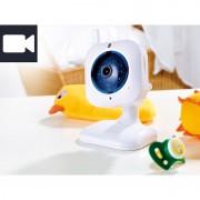 FreeTec IP-Netzwerk-Kamera mit Bewegungserkennung, QR-Code IR, 2-Wege-Audio