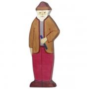 Fa játék figurák - nagypapa