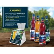 2.Fabbri Limonádé csomag Akció! Redeljen 4 ízt, 1 csomag szívószálat és 15 db limonádélapot adunk ajándékba!