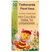 Pavel Vana Gyermek Tea Anti-cold Herbal 20x1,6g 32 g