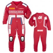 Motorcycle Baby grow babygrow Ondadda Red Baby Race Suit new 2017