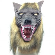 Halloween Mask Latex Wolf Head Cap Halloween Festival Party Fancy Masquerade Masks -HC5642