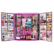 ZZ ZONEX Party Girl Doll and Her Fun Fashion Princess Personal Style Wardrobe Set (Doll)