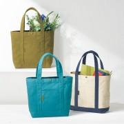 手作り帆布のポケット便利なトートバッグ 細野昌昭 バッグ 【ライトアップショッピングクラブ】