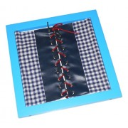 Kido Montessori Materials - Buttoning Frames (Fastening Frame) - Shoe Lacing - Tying shoe laces