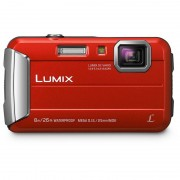 Panasonic Lumix DMC-FT30 16.1MP Vermelha