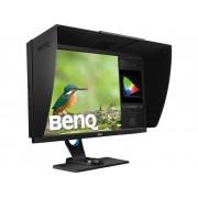 BenQ SW2700PT LED-monitor 68.6 cm (27 inch) Energielabel C 2560 x 1440 pix WQHD 5 ms DVI, USB 3.0, DisplayPort, Hoofdtelefoon (3.5 mm jackplug), Cardreader IPS