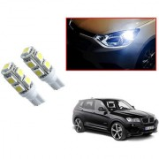Auto Addict Car T10 9 SMD Headlight LED Bulb for Headlights Parking Light Number Plate Light Indicator Light For BMW X3