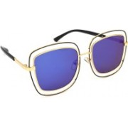 Redleaf Over-sized Sunglasses(Blue, Violet)