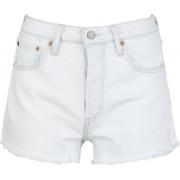 Levi's® 501® High Rise Damen Shorts blau Gr. 23