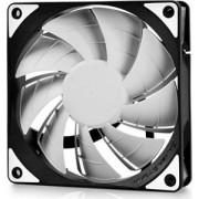 "Cooler DEEPCOOL PC 120x120x25 mm, white LED, PWM, Fluid Dynamic Bearing, MTBF 100.000 ore, pale dual-layer detasabile, ""TF120 WHITE"""