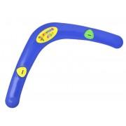 Jucarie bumerang cu fluier, culoare Albastru