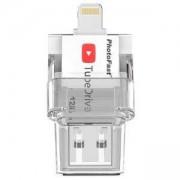 Външна памет PhotoFast TubeDrive, За Apple устройства, 128GB, PFTD128