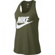 NIKE - tričko BR Sportswear Essential Tank olive green Velikost: M