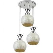 LeArc Designer Lighting Marble Look Pendent HL4022-3